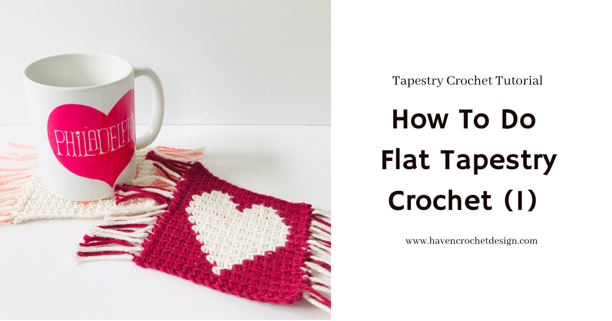 How To Do Flat Tapestry Crochet (1)
