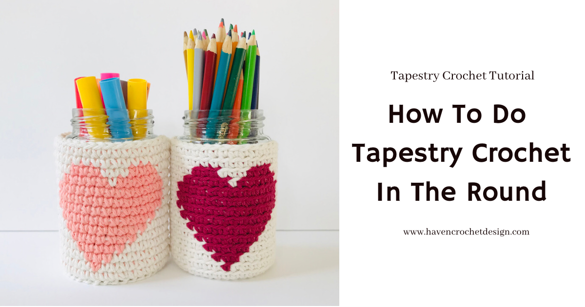 How To Do Tapestry Crochet In The Round
